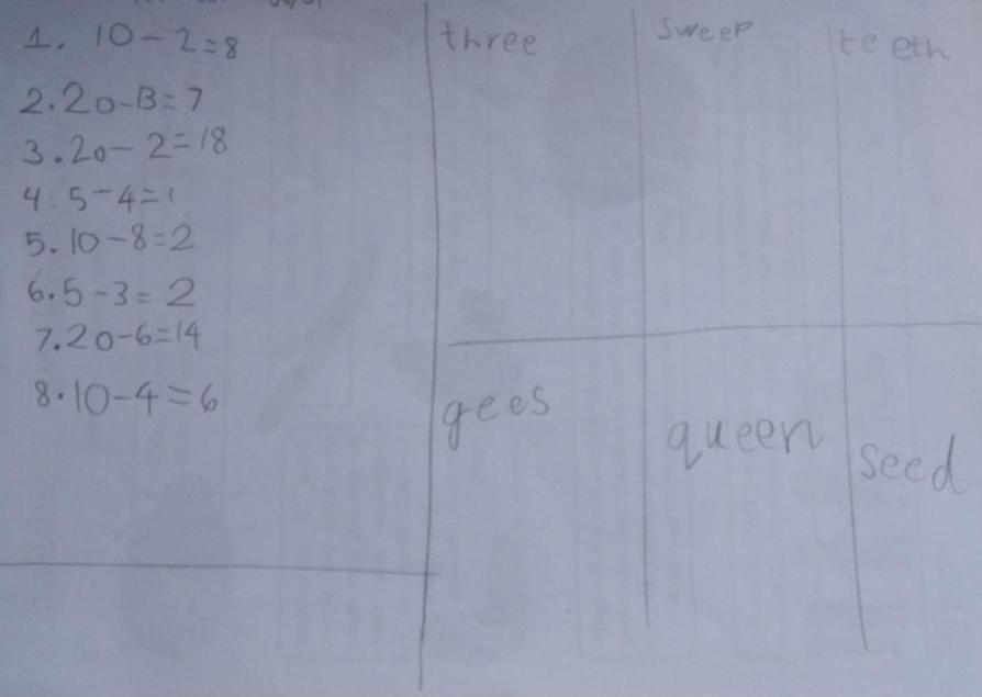 Fantastic Maths and Phonics Nikolai