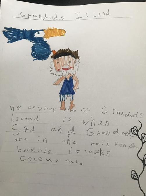 This is a fantastic picture and writing Esmee!