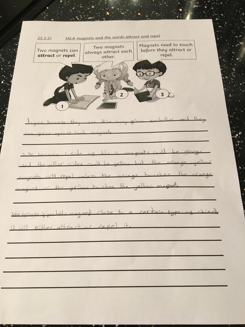 Great science work Ruby P!