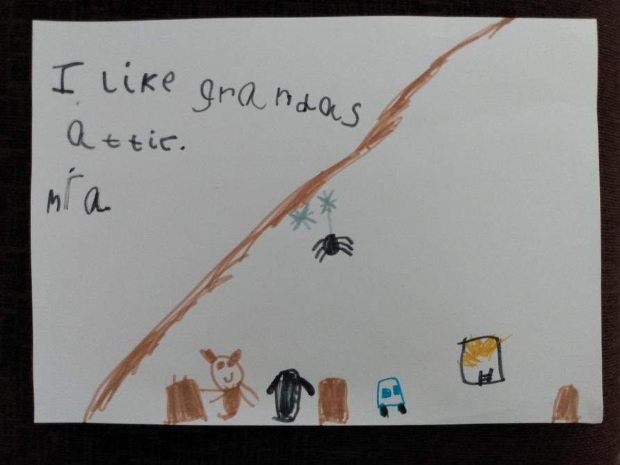 Fantastic work Mia, a lovely drawing!