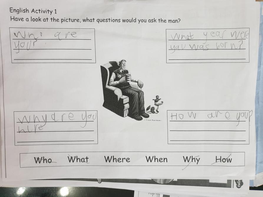 Brilliant questions James