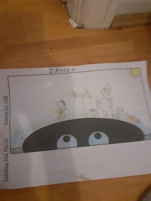 Great English work Zahra!