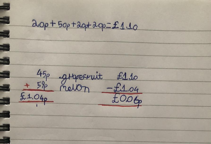 Great maths problem solving Matthew!