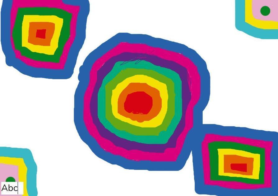 Kandinsky Circles by Sienna