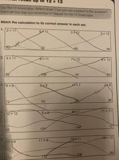 Super maths work by Noah