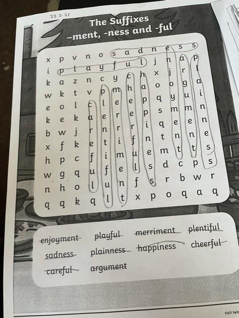 Super word search Phoebe