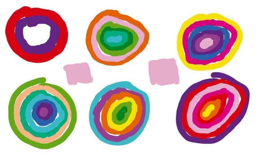 Kandinsky Circles by Alesha