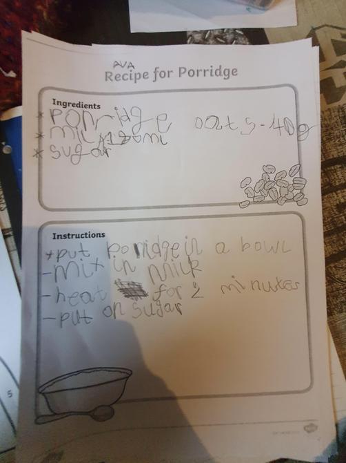 Fantastic instructions Ava!