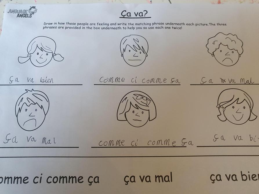 Super French work Lewis!