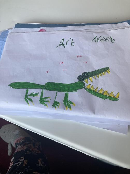 What an excellent piece of artwork Areeb!