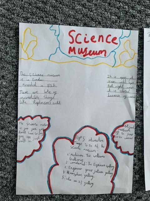 Excellent Science Museum poster Reggie!