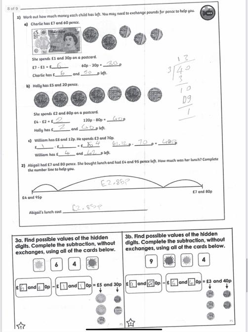 Great maths work Swettha!