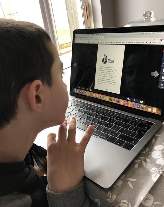 Important to keep up with the reading at home with myON