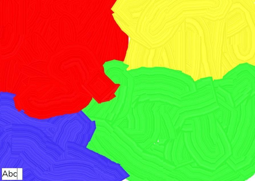 Bright colour choices by Railey