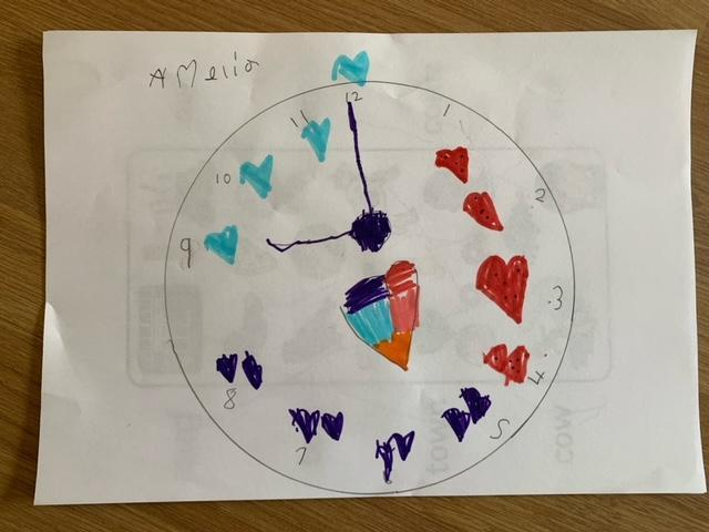 I love your clock Amelia
