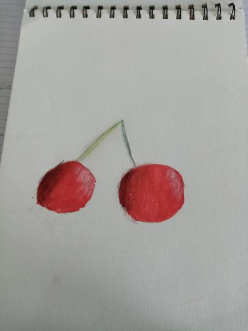 Lovely drawing of cherries Sumpriti