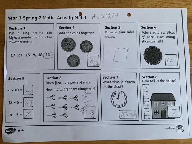 Super Maths William