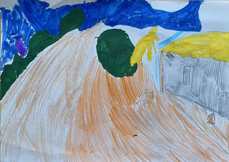 Charlie's Paul Gauguin interpretation