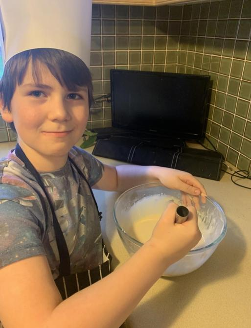 Watch out in the kitchen Mark - there's a new chef in town!!