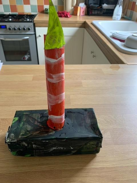 This is a fantastic lighthouse Amelia, well done!