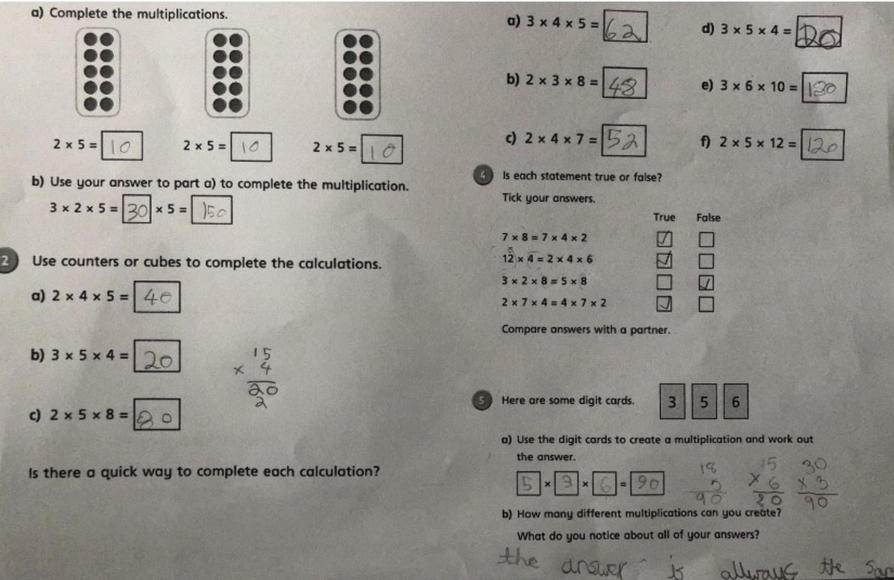 Multiplying 3 numbers by Matthew