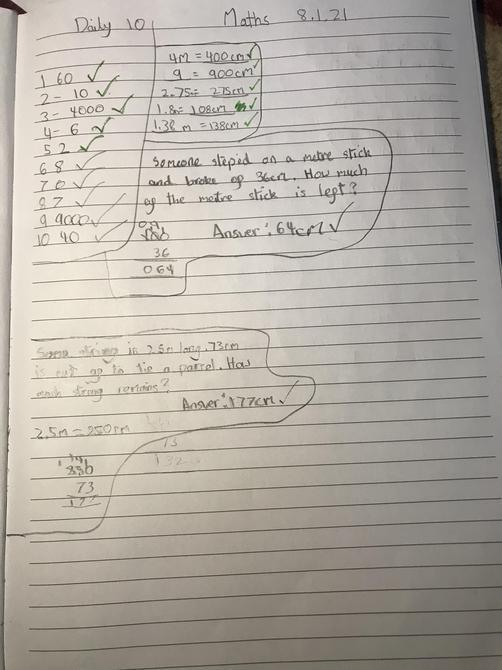 Maths challenge-Aarya
