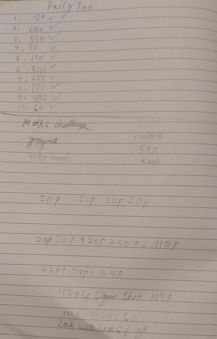 Super maths work by Rehan