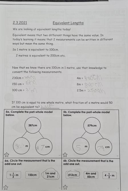Brilliant maths Oliver!
