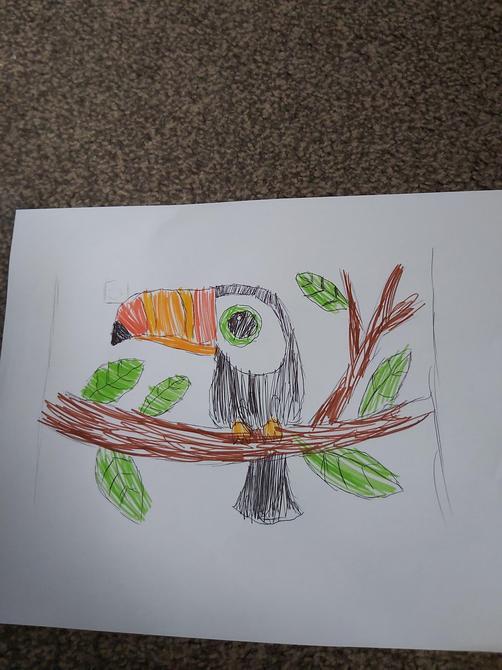 Excellent drawing and interpretation Aminata
