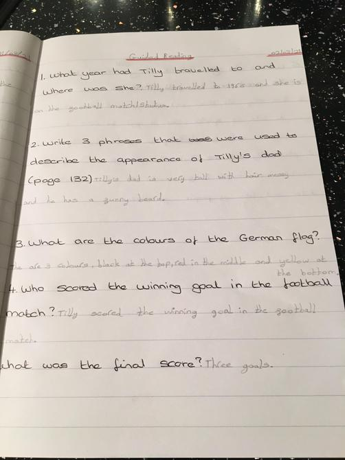 Great comprehension Ruby P!