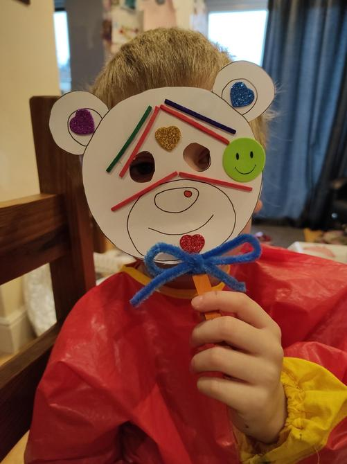 This is a brilliant Teddy mask!