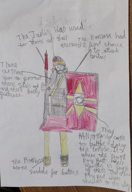 Great Roman Soldier Zayn! I love it!