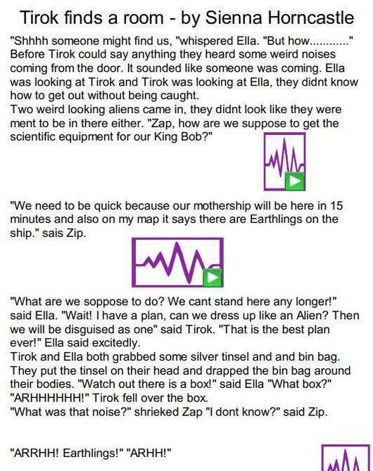Sienna's next part of the Tirok story. (Part 1)