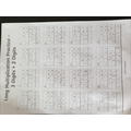 Katelyn mastering long multiplication