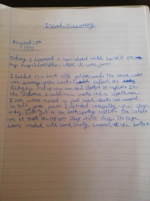 A fantastic diary entry Austen!