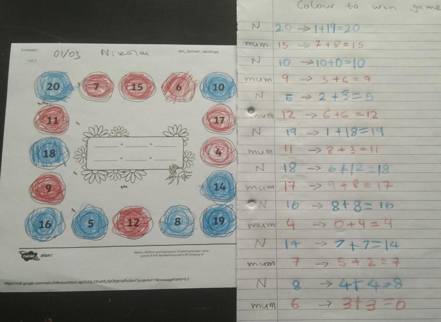More fantastic Maths Nikolai