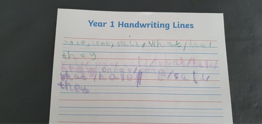 Great handwriting Henry