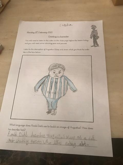 Great drawing Saisha!
