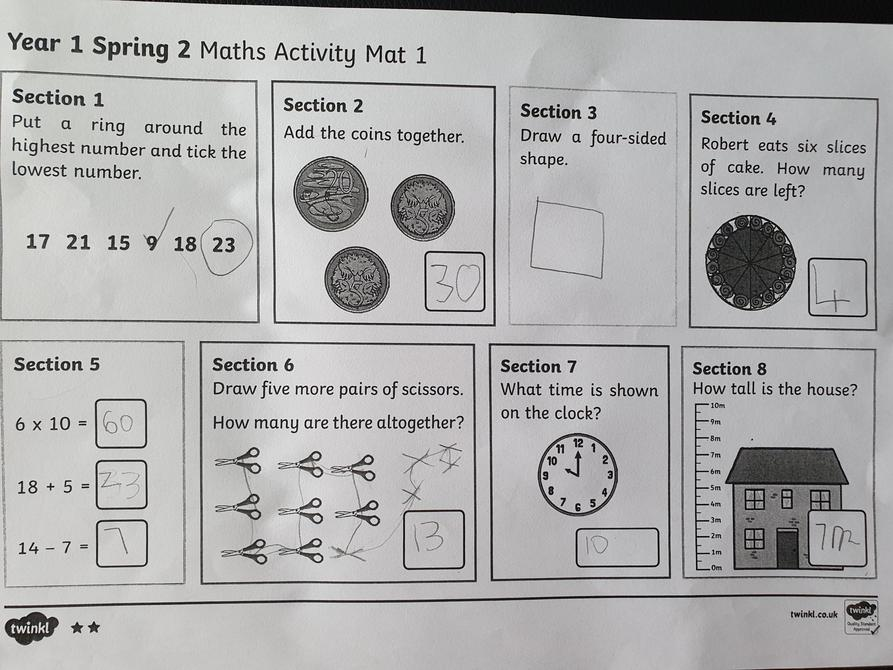 Great Maths Dominic