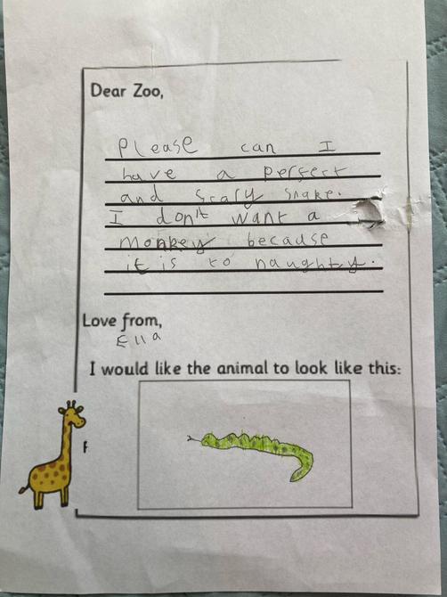 A super letter Ella