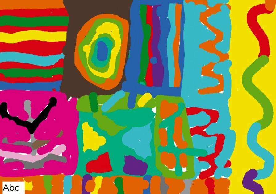 Kandinsky Circles by Noah