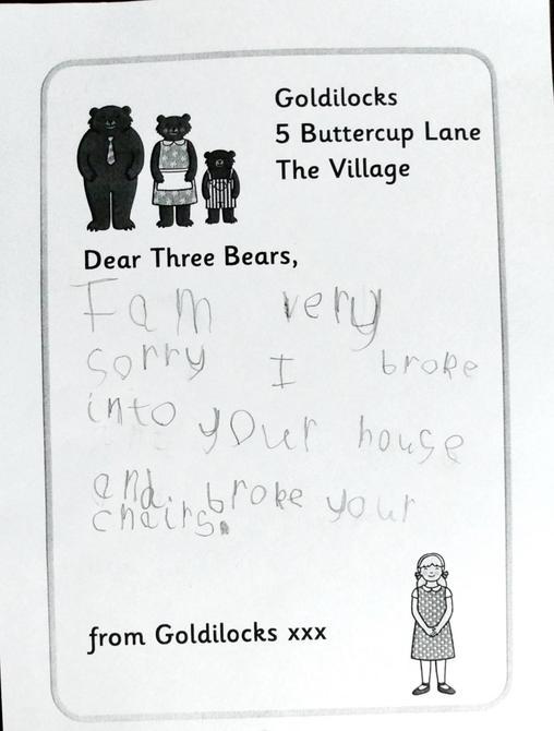 A brilliant letter Mia