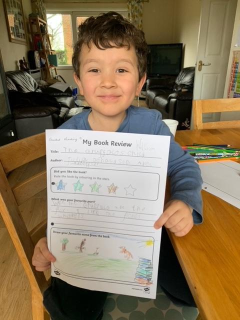 Fantastic book review, well done!