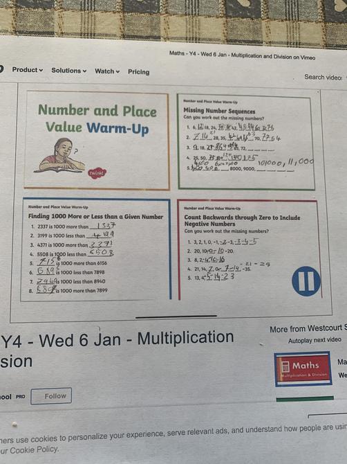 More super maths from Noah!