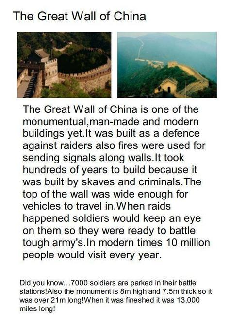 Great Wall of China - final piece by Rehan!