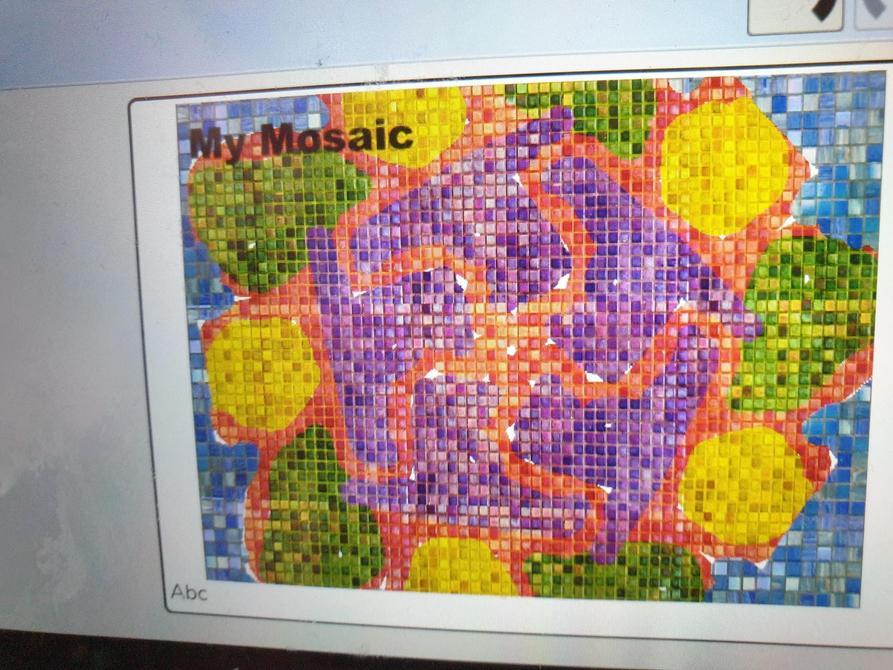 A beautiful mosaic by Jessica B!