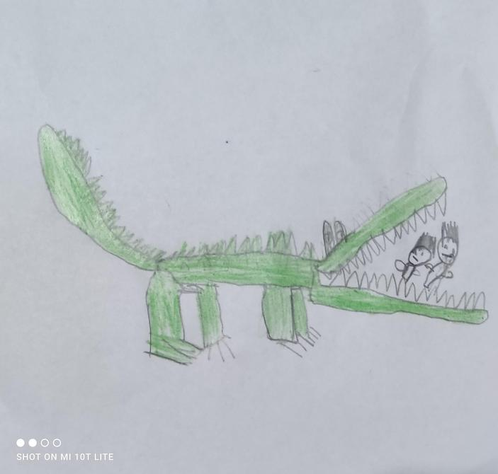 Fabulous drawing by Zayn - excellent work!