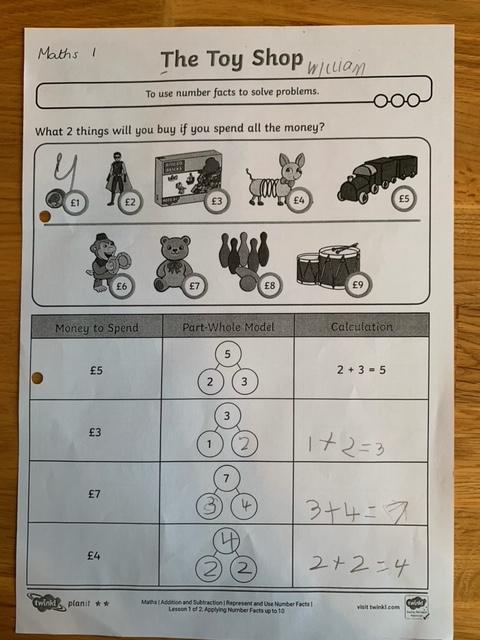 Brilliant Maths William