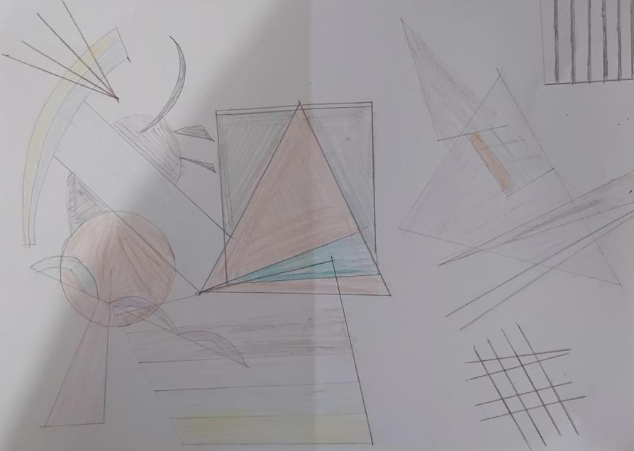 Kandinsky inspired art by Rehan