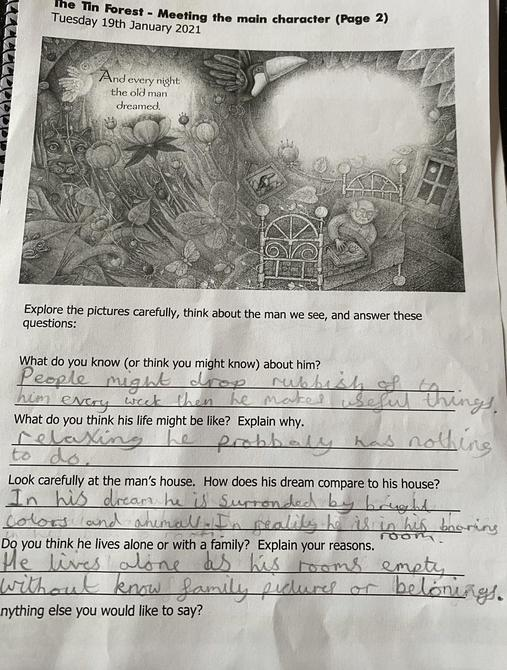 Meeting the Main Character of 'The Tin Forest' by Sienna